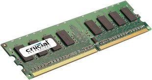 Crucial 2GB DDR2 PC2-6400 CL6 CT25664AA800