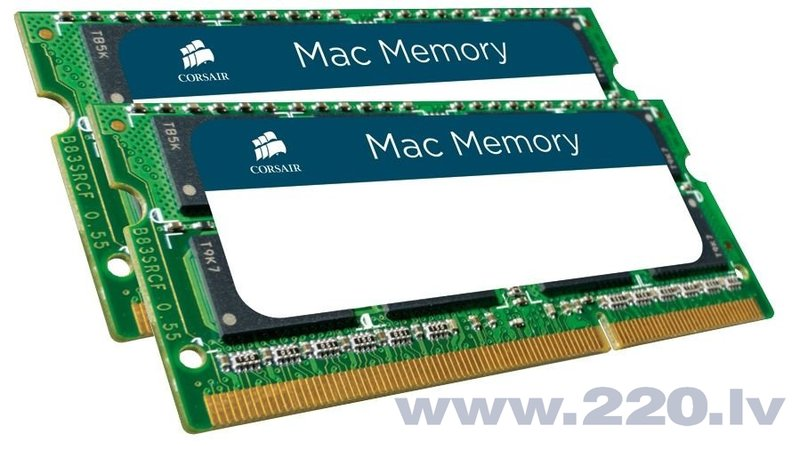 Corsair Mac Memory 16GB DDR3 CL9 SO-DIMM KIT OF 2 CMSA16GX3M2A1333C9