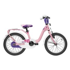 Velosipēds Scool niXe alloy 1 speed-lightpink matt 16""
