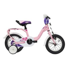 Velosipēds Scool niXe alloy 1 speed-lightpink matt 12""
