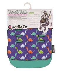 Ratiņu ieliktnis CuddleCo Comfi Cush Dinosaurs, CC842834 cena un informācija | Aksesuāri bērnu ratiem | 220.lv