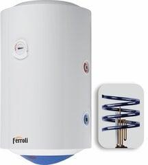 Kombinēts ūdens sildītājs Ferroli CALYPSO MT 150, vertikāls, 2 spirāles cena un informācija | Ūdens sildītāji | 220.lv