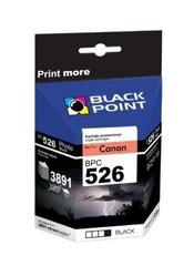 Ink Black Point BPC526BK | Black | 8,4 ml | Canon CLI-526BK cena un informācija | Ink Black Point BPC526BK | Black | 8,4 ml | Canon CLI-526BK | 220.lv