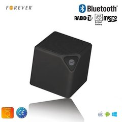 Forever BS-130 Bluetooth Bezvadu Skaļrunis ar Micro SD / FM Radio/Aux/Telefona Zvana Funkciju Melna cena un informācija | Portatīvie skaļruņi, audio atskaņotāji un austiņas | 220.lv