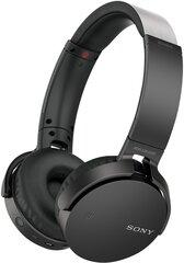Austiņas Sony MDR-XB650BT, melnas