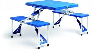 Складной стол с 4 стульями