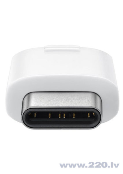 Adapteris USB Type-C-microUSB, Balts cena