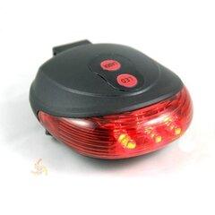 Задний свет велосипеда с лазером LED