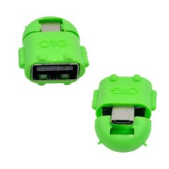 Adapteris USB Vakoss USB A/micro USB (TC-U1303E) cena un informācija | Adapteri un USB centrmezgli | 220.lv