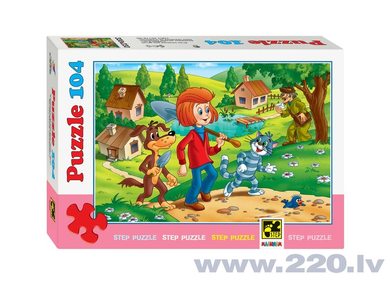 "Puzle Step Puzzle 104 ""Skabpienciems"""