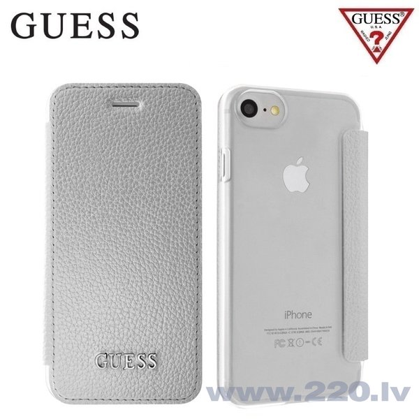 "GUESS GUFLBKP7IGLTSI ultra slim чехол для Apple iPhone 7 4.7"", Серебристый"