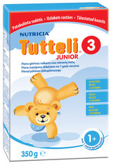 Молочный напиток Tutteli 3, 12+ мес, 350 г цена и информация | Смеси | 220.lv