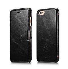 Melns maciņš priekš Apple iPhone 6/6s cena un informācija | Maciņi, somiņas | 220.lv