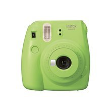 Fujifilm Instax Mini 9 Lime Green + Instax Mini Glossy (10)