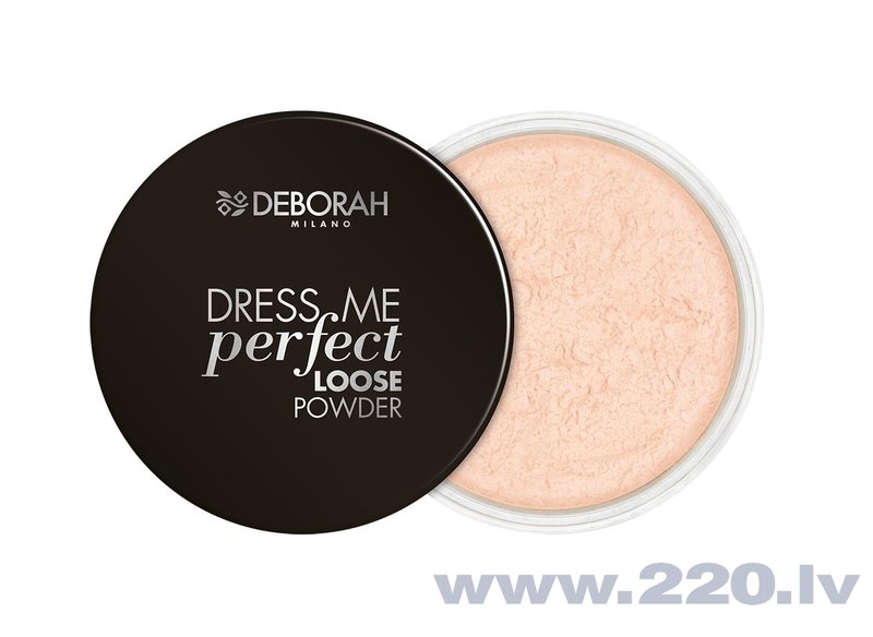 Birstošs pūderis Deborah Dress Me Perfect, 25g