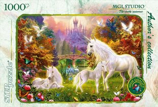 "Puzle Step Puzzle 1000 ""Unicorn House"""