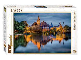 "Puzle Step Puzzle 1500 ""Pils pie ezera"" cena un informācija | Puzle Step Puzzle 1500 ""Pils pie ezera"" | 220.lv"