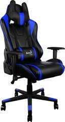 Aerocool Gaming Chair AC-220, Melns/Zils