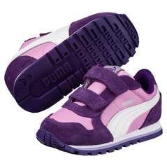 Puma sporta apavi ST Runner L V Inf, Smoky Grape-Puma White