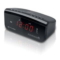 Muse Clock radio PLL M-12CR Black, Alarm function cena un informācija   Muse Clock radio PLL M-12CR Black, Alarm function   220.lv