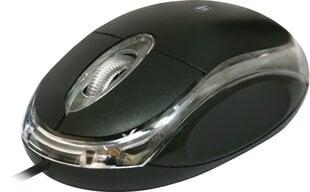 Optiskā vadu pele Defender #1 MS-900, Melna