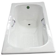 Čuguna vanna ar rokturiem un kājiņām 20010 180cm