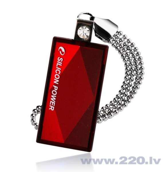 Silicon Power Touch 810 16GB Red USB2.0 цена и информация | USB Atmiņas kartes | 220.lv