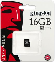 Kingston MicroSDHC 16GB Class4