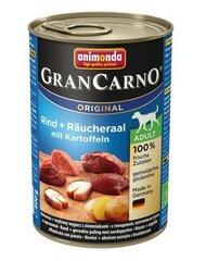 Animonda Grancarno ar liellopu gaļu, kūpinātu zuti un kartupeļiem, 800 g cena un informācija | Konservi suņiem | 220.lv
