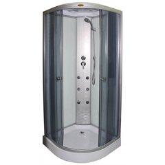 Гидромассажная душевая кабина R8602 Grey, 90x90
