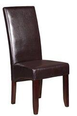 2 krēslu komplekts Valentino, tumši brūns