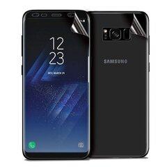 Forcell Samsung G955 Galaxy S8 Plus / S8+ ekrāna aizsargplēve Glancēta (Pilnam ekrānam) cena un informācija | Ekrāna aizsargplēves | 220.lv