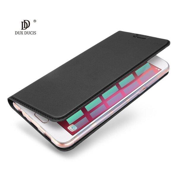 Sāniski atverams maciņš Dux Ducis Premium Magnet Case priekš Apple iPhone 6 / 6S, pelēks lētāk