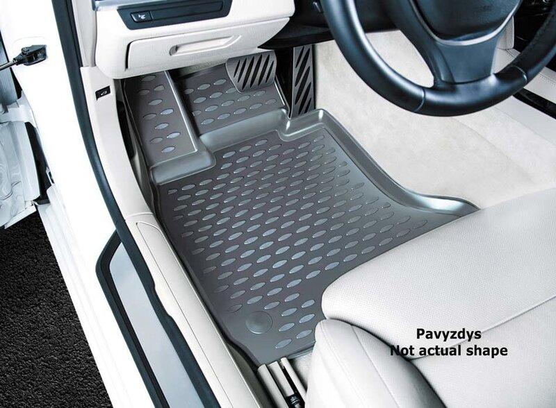 3D AUDI A6 2004-2/2005,3/2006-2011, 4 pcs. /L03006G /gray