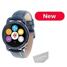 MyKronoz Smartwatch Zecircle 2PS Black