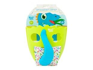 Vannas piederumu organaizers- spainis Dino, Roxy Kids, Green