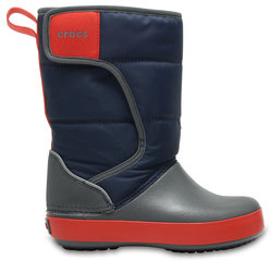 Crocs™ зимние сапоги LodgePoint Snow Boot, K Nvy/Sgy
