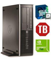 HP 6300 PRO SFF i5-3470 8GB 1TB GT730 2GB DVDRW WIN10Pro