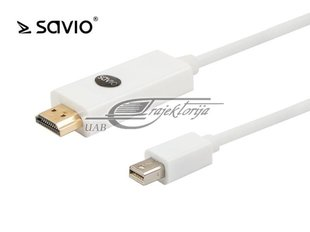Kabelis Elmak Mini DisplayPort - HDMI 3m (SAVIO CL-84)