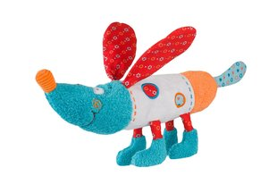 Mīkstā rotaļlieta - suņuks BOB, 1605, BabyOno cena un informācija | Rotaļlietas zīdaiņiem | 220.lv