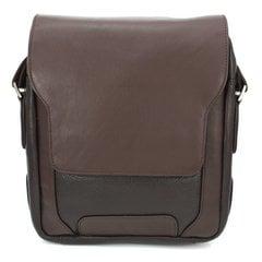 Ādas soma SEHGAL VRBRN8189R cena un informācija | Vīriešu somas | 220.lv