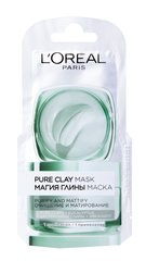 Attīrošā maska L'Oreal Paris Pure Clay, 6 ml