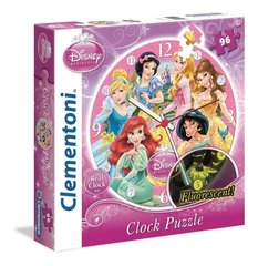 Пазл-часы Clementoni 23020 - Disney Princess