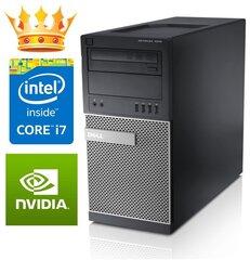 DELL 7010 TW i7-3770 16GB 512SSD DVDRW GTX1050Ti 4GB WIN10Pro