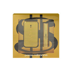 Komplekts Paco Rabanne 1 Million: edt 50 ml + edt 10 ml