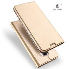 Dux Ducis Premium maciņš priekš Samsung J730 Galaxy J7 (2017) Zeltains