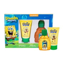 Komplekts SpongeBob Squarepants SpongeBob: edt 50 ml + dušas želeja 75 ml