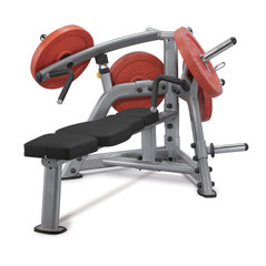 Тренировочная скамейка Steelflex PlateLoad line PLLE