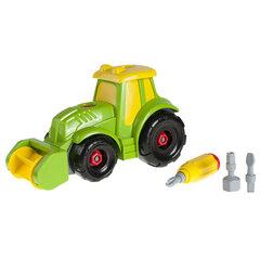 Build and Play traktors ar aksesuāriem, Smiki