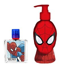 Komplekts Marvel Ultimate Spiderman: EDT zēnam 50 ml + dušas želeja 250 ml